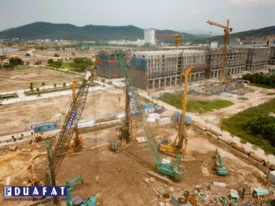 [PACE OF LIFE IN CONSTRUCTION SITE] DUA FAT AT PROJECT FOR COMMERCIAL MIXED BUILDING SERVICE AND APARTMENT APARTMENT A LA CARTÉ HẠ LONG
